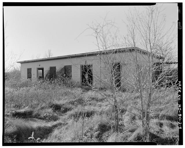 VIEW SOUTHWEST, generator building