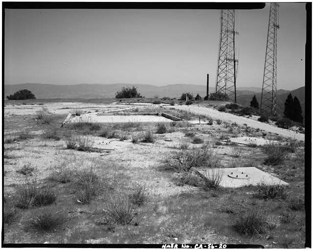 VIEW OF RADAR SITE, LOOKING NORTH