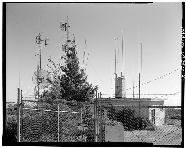 Mill Valley Early Warning Radar Station EXTERIOR OF BUILDING 402, CIVIL ENGINEERING STORAGE, LOOKING SOUTH.